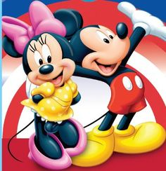 Mickey Mouse & Minne Mouse......