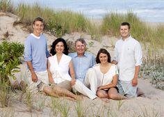 Family Beach Portrait | Deborah Kalas Portrait Photography