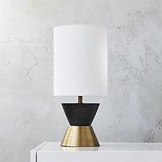 mister table lamp $119  cb2