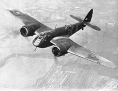 An RAF Blenheim Bomber. This is a bomber that were use in ww2 and it is bomber it was what all country use to stop troop or other tank troops.
