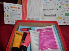 Birchbox July 2014. My least favorite item was the Cynthia Rowley lip stain (ironic because I picked that one). Everything else was pretty good. The Vasanti Cleanser was the star of this box. I also did the rebate on the magazine subscription so this $10 Birchbox was basically free. Rating: A.