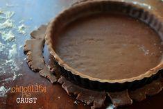 Chocolate Pie Crust  www.SimplyScratch.com