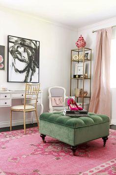 Touring The Sleek And Stylish Office Of Mara Ferreira | Glitter Guide