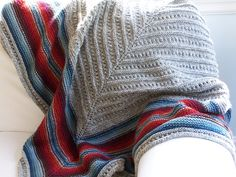 Ravelry: Southwest Stripe Shawl pattern by Megan Delorme