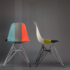 Project Eames' chairs on Behance (http://www.pinterest.com/AnkAdesign/collection-6/)