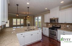 Are you planning a night in? Does your current kitchen have the design you want? If not Ivey Homes can help!  #kitchen #kitchendesign #newhome #newhome #iveyhomes Ivey Homes is a local Augusta GA home builder. Homes from the Low $100's to custom.