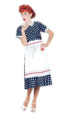 I Love Lucy Polka Dot Dress
