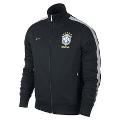 A beautiful jacket for those who play the Beautiful Game. The Nike Brazil N98 Training Jacket. www.soccercorner.com