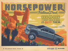#houseofads | Ram Trucks: Horsepower. By the Richards Group, Dallas.