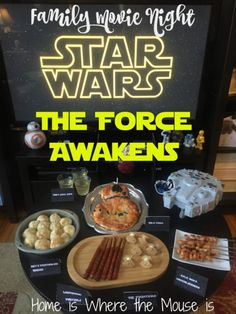"Celebrate Star Wars Day with a ""Star Wars: The Force Awakens"" movie night 