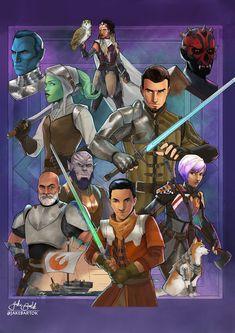 Star Wars Pictures, Star Wars Images, Star Wars Poster, Star Wars Art, Fantasy Star, Star Wars Drawings, Star Wars Rebels, Obi Wan, Medieval Fantasy