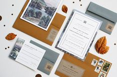 Design Work Life » Jaime Van Wart: Chris and Krista Wedding Materials