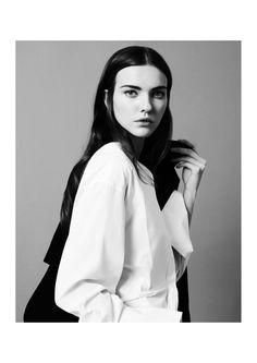 Onyx - Photographed by Dimitri Dimitracacos Fashion Stylist Ludovica Misciattelli Makeup and Hair Elisa Rampi Models Gabi Zieba / Whynotmodels & Kasia Krol / Whynotmodels