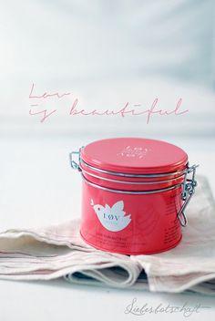 Liebesbotschaft: The beauty of rainy days + løv-tea