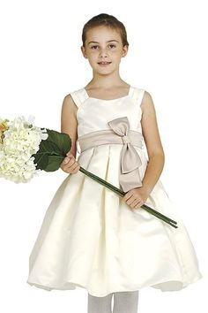 Up to off flower girl dresses, communion dresses, pageant wear for kids, boys suits, & more. Toddler Flower Girl Dresses, Ivory Flower Girl Dresses, Girls Formal Dresses, Special Dresses, Satin Dresses, Cheap Dresses, Pageant Wear, Communion Dresses, Satin Flowers