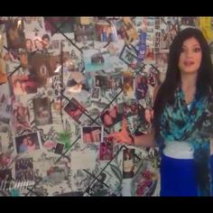 Bulletin board from kylie jenners room I so want one