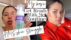 #youtubechannel #pms #skincare dealing with PMs skin💕