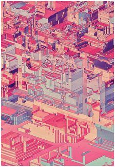 Pixel City by Atelier Olschinsky