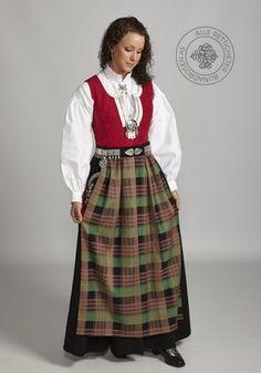 Nordmørsbunad til dame - BunadRosen AS Going Out Of Business, Folk Fashion, My Heritage, Norway, Costumes, Sweaters, Bergen, Dresses, Sewing