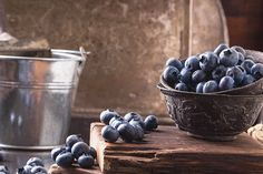 Blueberries by Sebastiana  on 500px