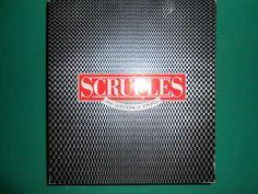 SCRUPLES – MB Giochi 1986 OTTIMO Una questione di scrupoli Prima Edizione