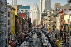 East Broadway, Chinatown,