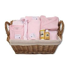 Burts bees baby boys take me home gift basket httptoysrus burts bees baby girls 9 piece light pink striped organic bee essentials take me home basket negle Image collections