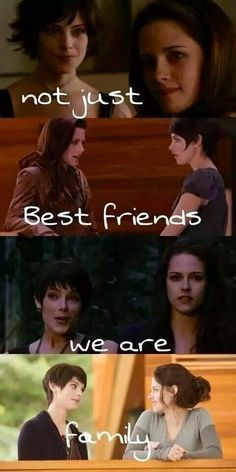 Alice and Bella through the films with there friendship Twilight Saga Quotes, Twilight Jokes, Twilight Saga Series, Twilight Edward, Twilight Cast, Twilight New Moon, Twilight Pictures, Twilight Series, Twilight Movie