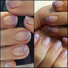 Summer nails purple My nails :)