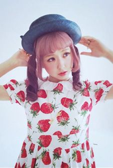 Buy directly from the world's most awesome indie brands. Gyaru Fashion, Harajuku Fashion, Japan Fashion, Kawaii Fashion, Cute Fashion, Harajuku Style, Strawberry Color, Strawberry Dress, Strawberry Garden