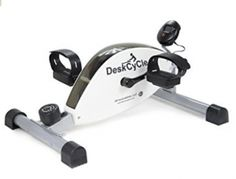 DeskCycle Under Desk Cycle,Pedal Exerciser - Stationary Mini Exercise Bike - Office, Home Equipment Best Exercise Bike, Exercise Bike Reviews, Mini Bike, Desk Workout, Adjustable Weight Bench, Electric Treadmill, Home Gym Exercises, Workouts