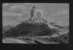 Artist's impression of Voortrekker Monument. - Atom site for DRISA Pretoria, Destruction, Statue Of Liberty, History, City, Artist, Travel, Statue Of Liberty Facts, Historia