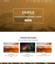 Our best-selling theme, Simple offers all the quality and flexibility that you've come to expect from Nimbus Themes in a new super-modern, minimal, clean design. With tons of frontpage layouts including full-width banner layout, slideshow, and more, this theme is sure to please!