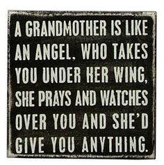 Quote about Grandmothers