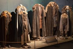 To represent the Starks as a close family unit, costume designer Michele Clapton chose to dress them in complementary shades of warm blues and grays.