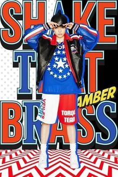 "f(X) Amber to Come Back with First Solo Album Title Song ʺShake That Brass,"" featuring Girls' Generation Taeyeon"