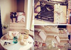 Shabby Chic Burlap & Lace Wedding