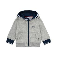 b7f7059c2bc9 Baby Boys Logo Hoodie - Grey. Boys Designer ClothesEmbroidery MaterialsBoss  ...