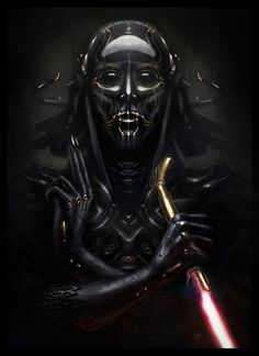 Darth Vader Pharaoh Redesign - Created by Guy Bourraine Jr.