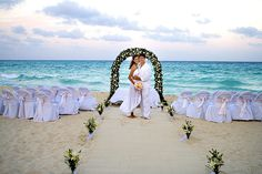 This Mexico beach venue has all the amenities you need for a dream Mexico wedding ceremony.