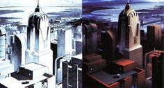 Gotham City Skyscraper, by Keith Weesner and John Calmette.