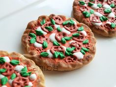 How To Make Pizza Cookies!