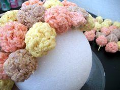 rice krispie treat balls on a stick - Bing Images