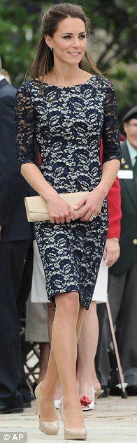 Dashing. I think Kate Middleton is BEAUTIFUL! I love her fashion style!