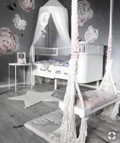 11 Cute Nursery Baby Room Ideas for Baby Girl Girls Bedroom Decor Cute Bedroom Ideas, Cute Room Decor, Baby Room Decor, Bedroom Decor, Room Baby, Playroom Decor, Nursery Ideas, Babyroom Ideas, Nursery Themes