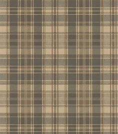 Moore Olive Plaid Wallpaper