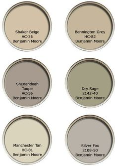 For the home / Sabrina Soto's favorite neutral paint colors.