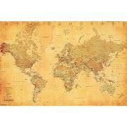 Art.com - Vintage World Map