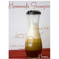#new #homemade #shampoo my hair feels #incredible and #smells yummyyy