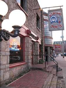I love Eskimo Joe's. Great place for burgers and beer.